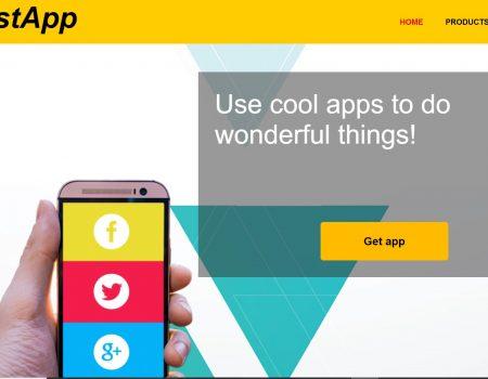 Mobile apps website